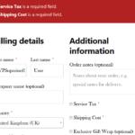 MultipleFees-Validation-CheckoutPage