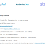 Authorize.NET method