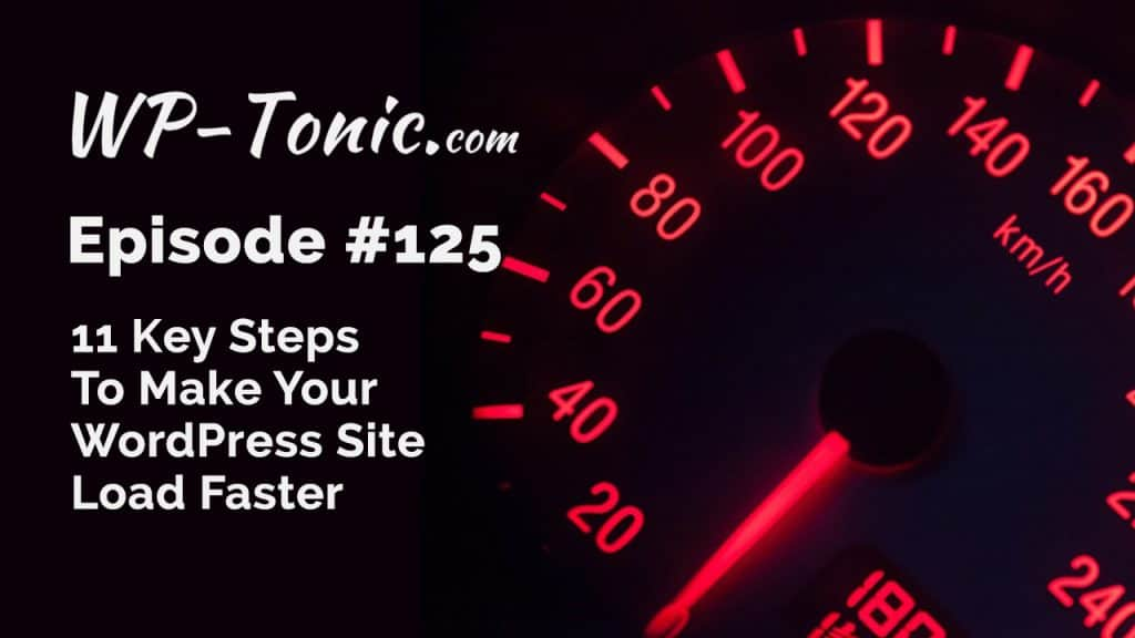 125-wp-tonic-11-steps-to-faster-wordpress-website