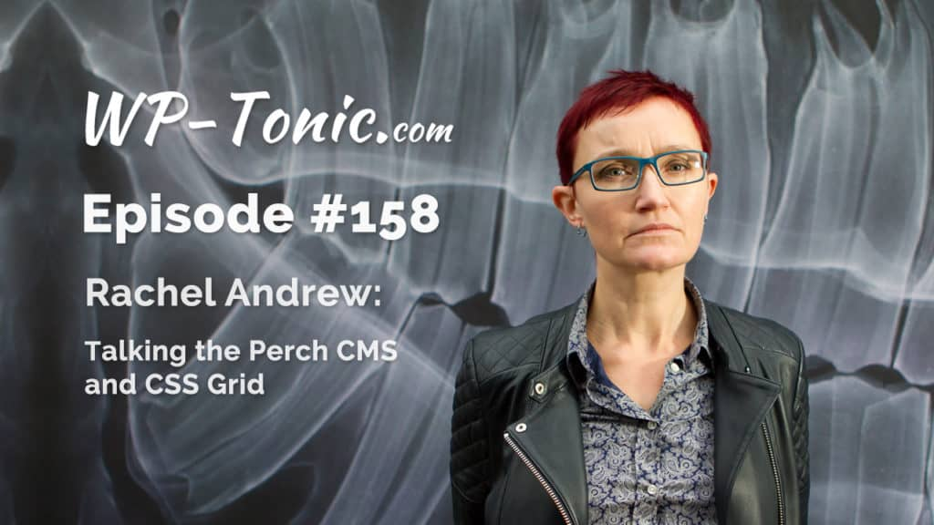 Rachel Andrew Joint Founder of Perch CMS