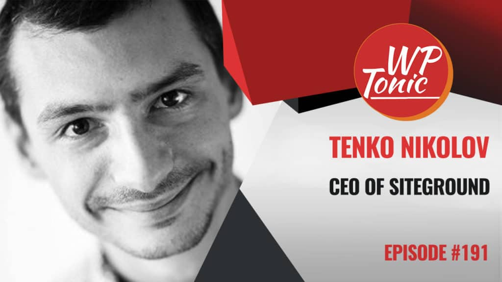 Tenko Nikolov CEO of SiteGround