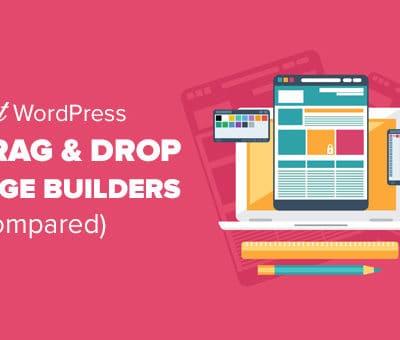 The Best Drag and Drop WordPress Website Builder