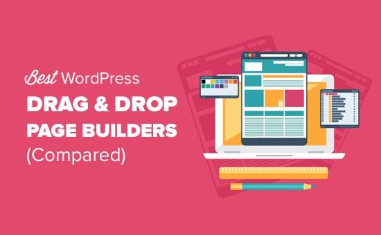 Drag and Drop WordPress Website Builders