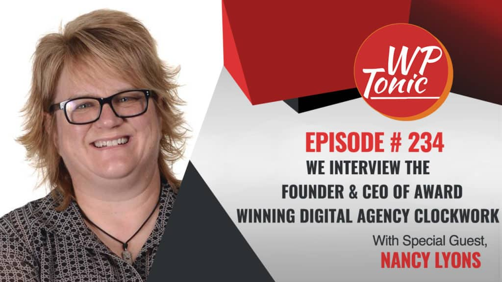 Nancy Lyons CEO of Award Winning Digital Agency Clockwork