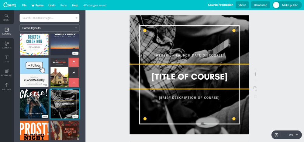 Course Template