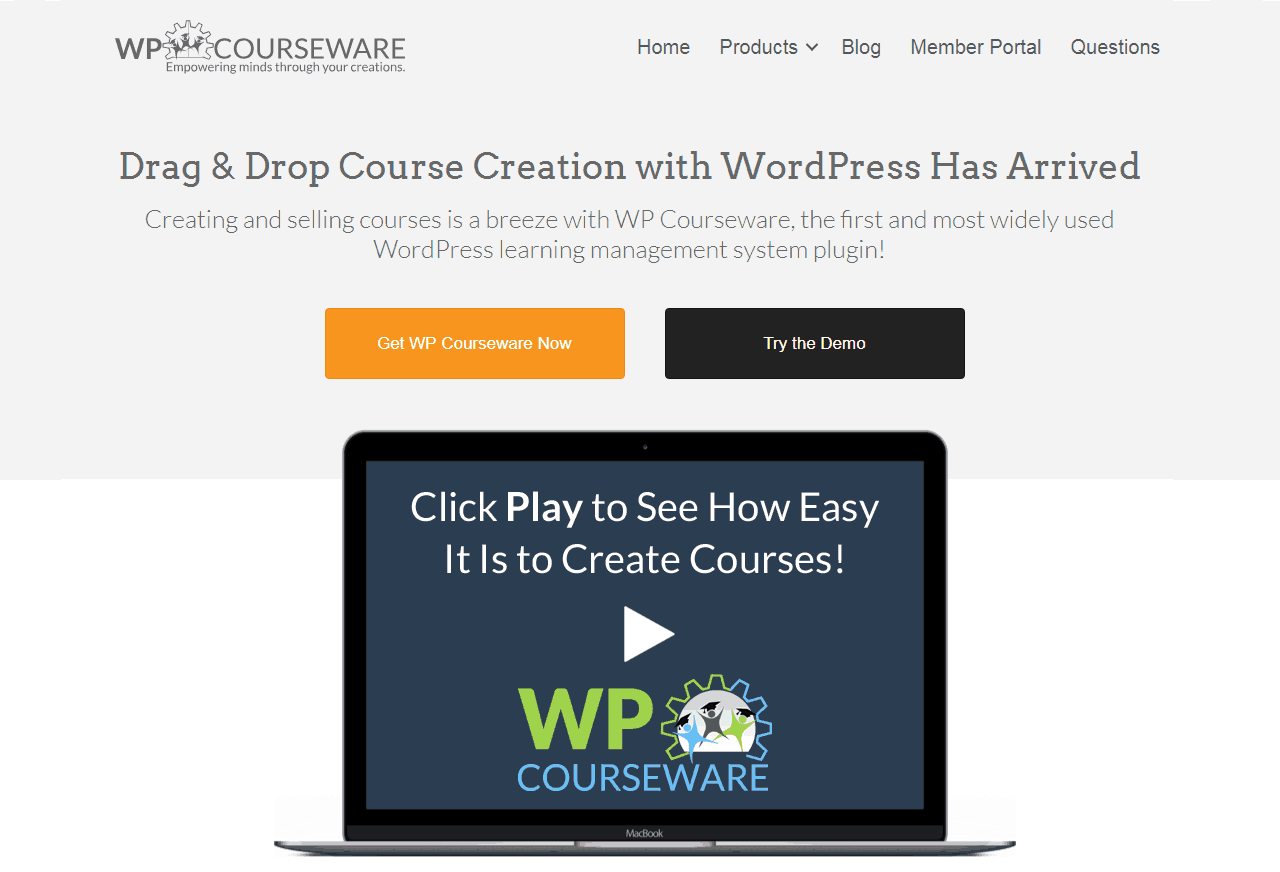 WP Courseware is a feature-rich WordPress LMS