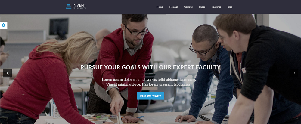 Invent is a professional WordPress LMS theme