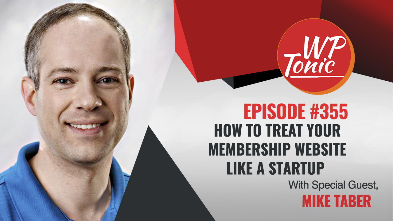 We discuss with Mike the similarities between starting a start-up and building an new online course
