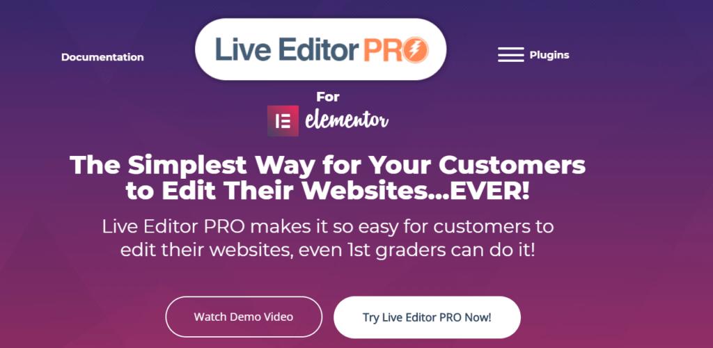Live Editor Pro