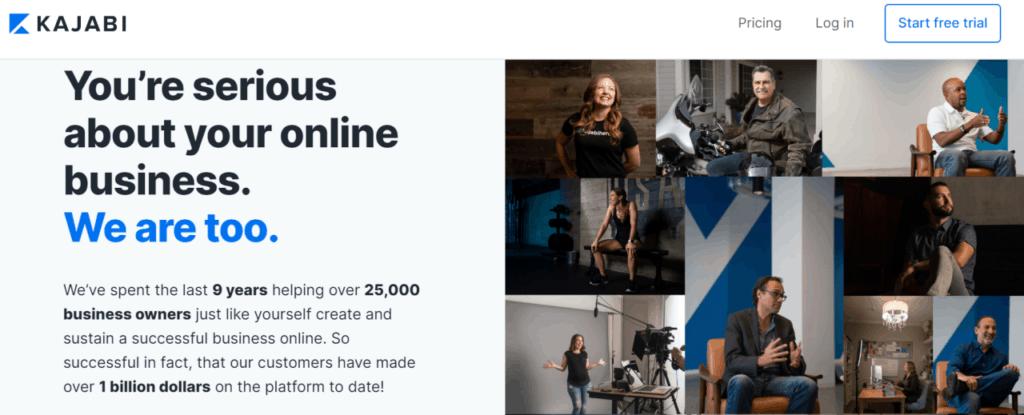 Kajabi is a complete online course platform