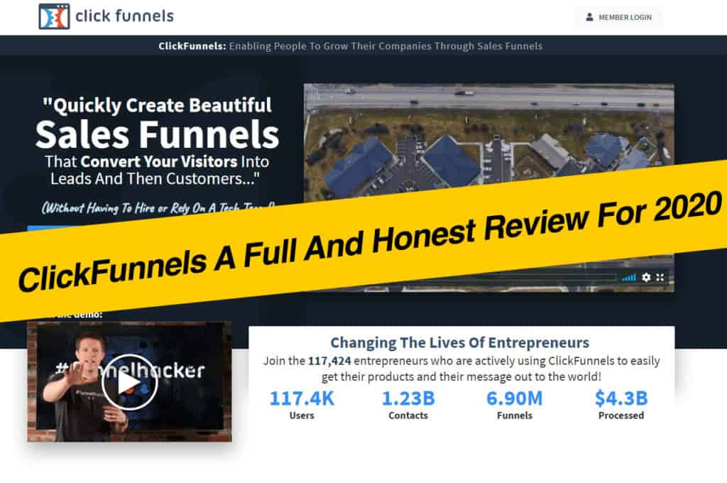 ClickFunnels A Full And Honest Review For 2020!