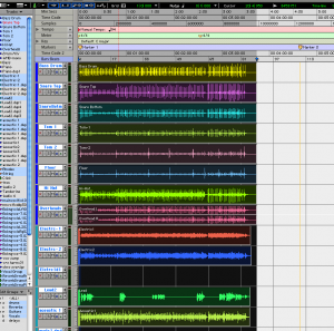 Pro tools session