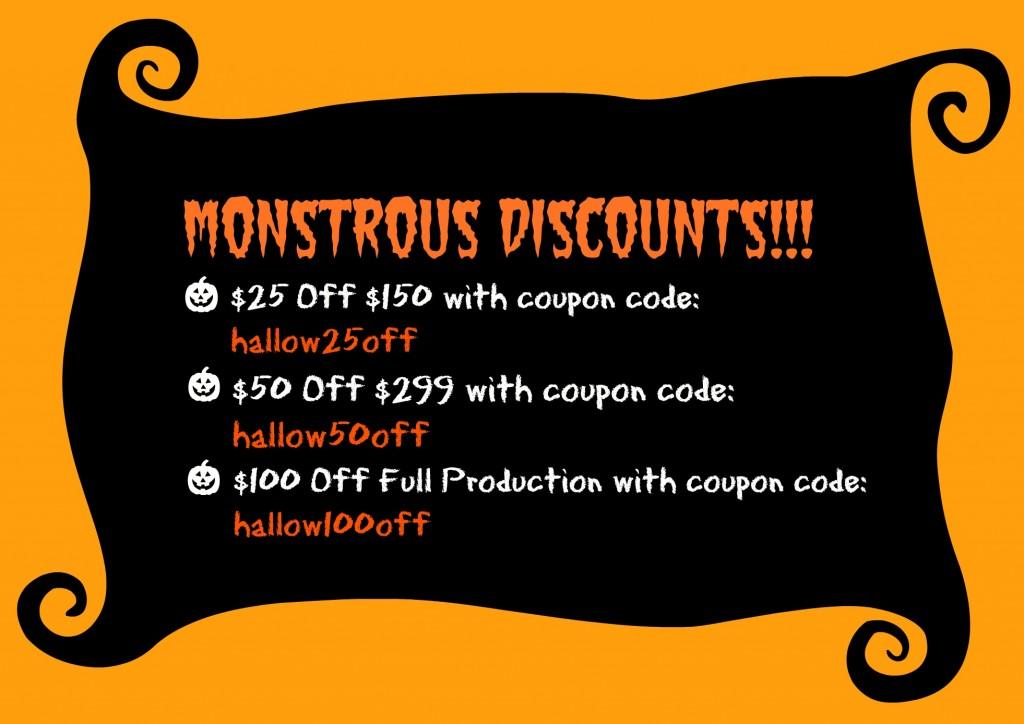 Monstrous Discounts