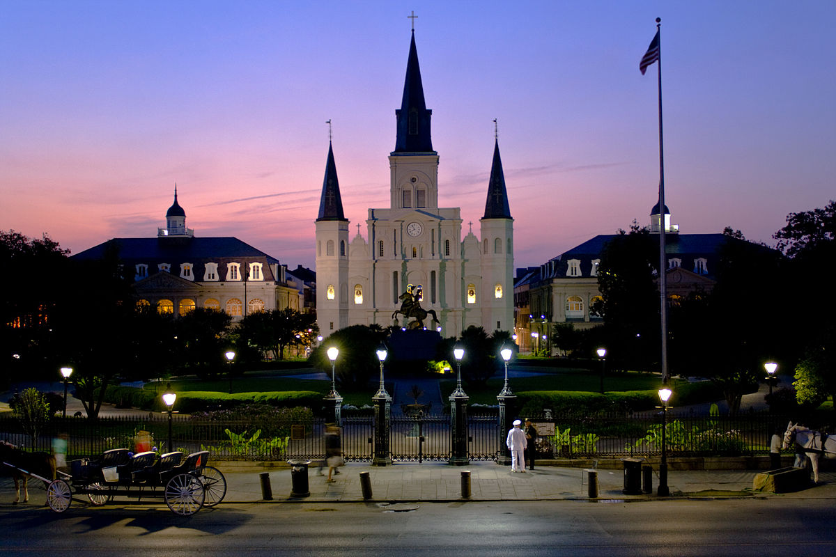 New Orleans - Five best beighborhoods