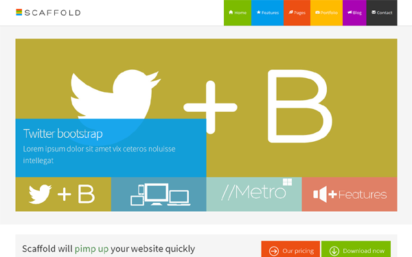 metro business theme