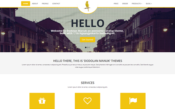 Best Bootstrap E-commerce Themes