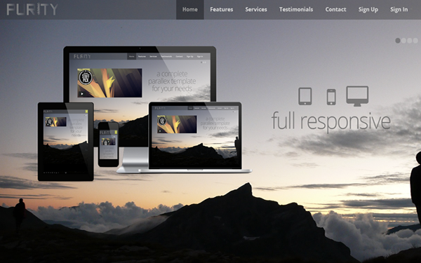 Shield Full Responsive Template