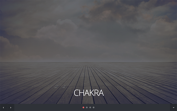 Chakra - One Page Responsive Theme