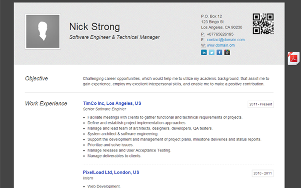 bootstrap resume code 28 images 1000 images about 7 of