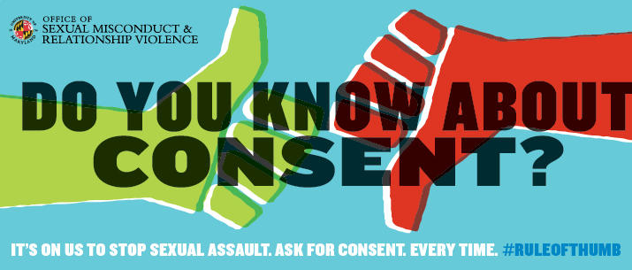 It's On Us To Stop Sexual Assault – Rule of Thumb