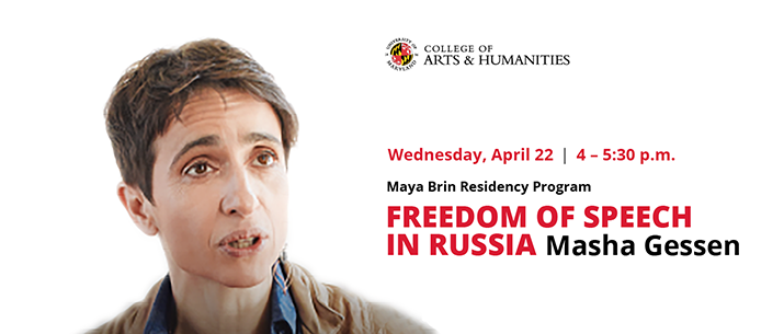 Freedom of Speech in Russia Lecture: Putin's War Against the West