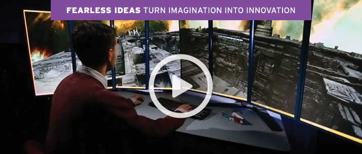 Fearless Ideas Turn Imagination