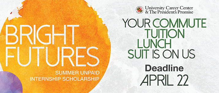 Bright Futures: Unpaid Summer Internship Scholarship Fund