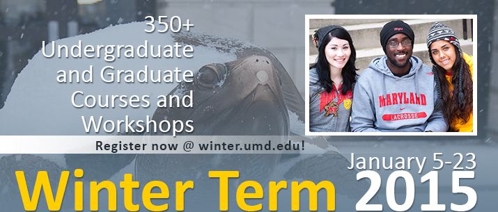 Winter Term: January 5 - 23, 2015