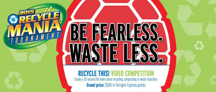 RecycleMania 2015: February 1st - March 28th
