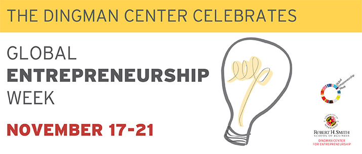 Dingman Center Celebrates Global Entrepreneurship Week 2014
