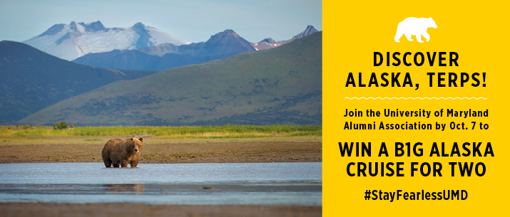 Win a crusie for two to alaska