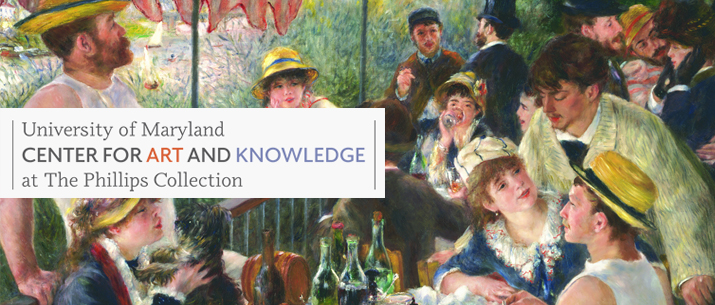 University of Maryland // Center for art Knowledge // at the Phillips Collection