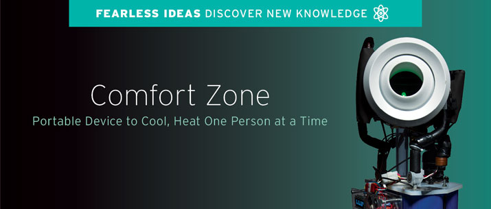 Comfort Zone: Portable Device to cool
