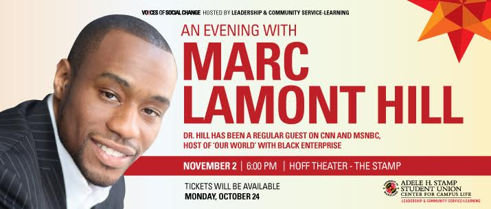 An Evening with Marc Lamont hill