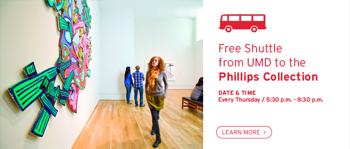 Free Shuttle from UMD to the Phillips Collection