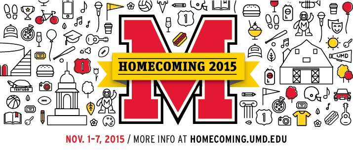 Homecoming Graphic UMD