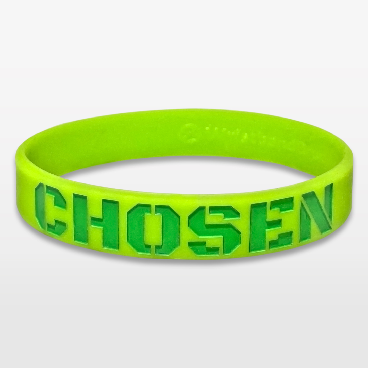 Chosen Classic Silicone Wristband custom made for a customer