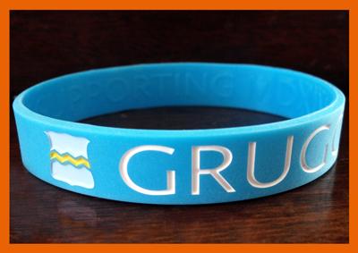 Classic Silicone Wristband custom made for Gruggen!