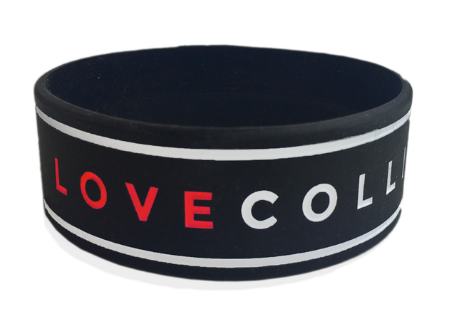 "1"" Silicone Wristband custom made for Cartel"