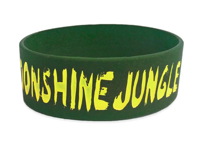"1"" Silicone Wristband custom made for Bruno Mars"