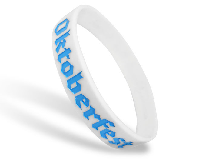 Classic Silicone Wristband custom made for Octoberfest