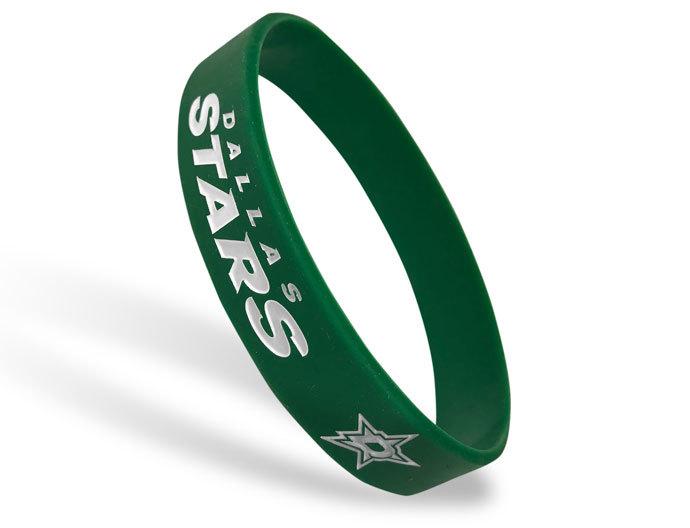 Classic Silicone Wristband custom made for Dallas Stars