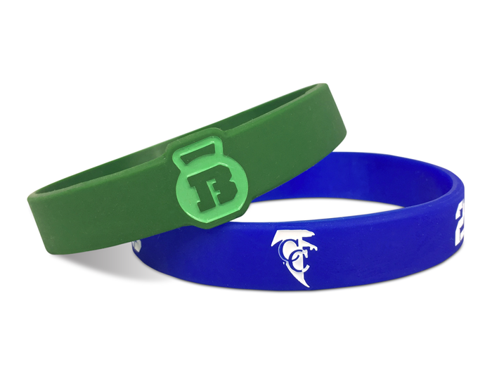 "1/2"" Silicone Wristband designed for our customers"