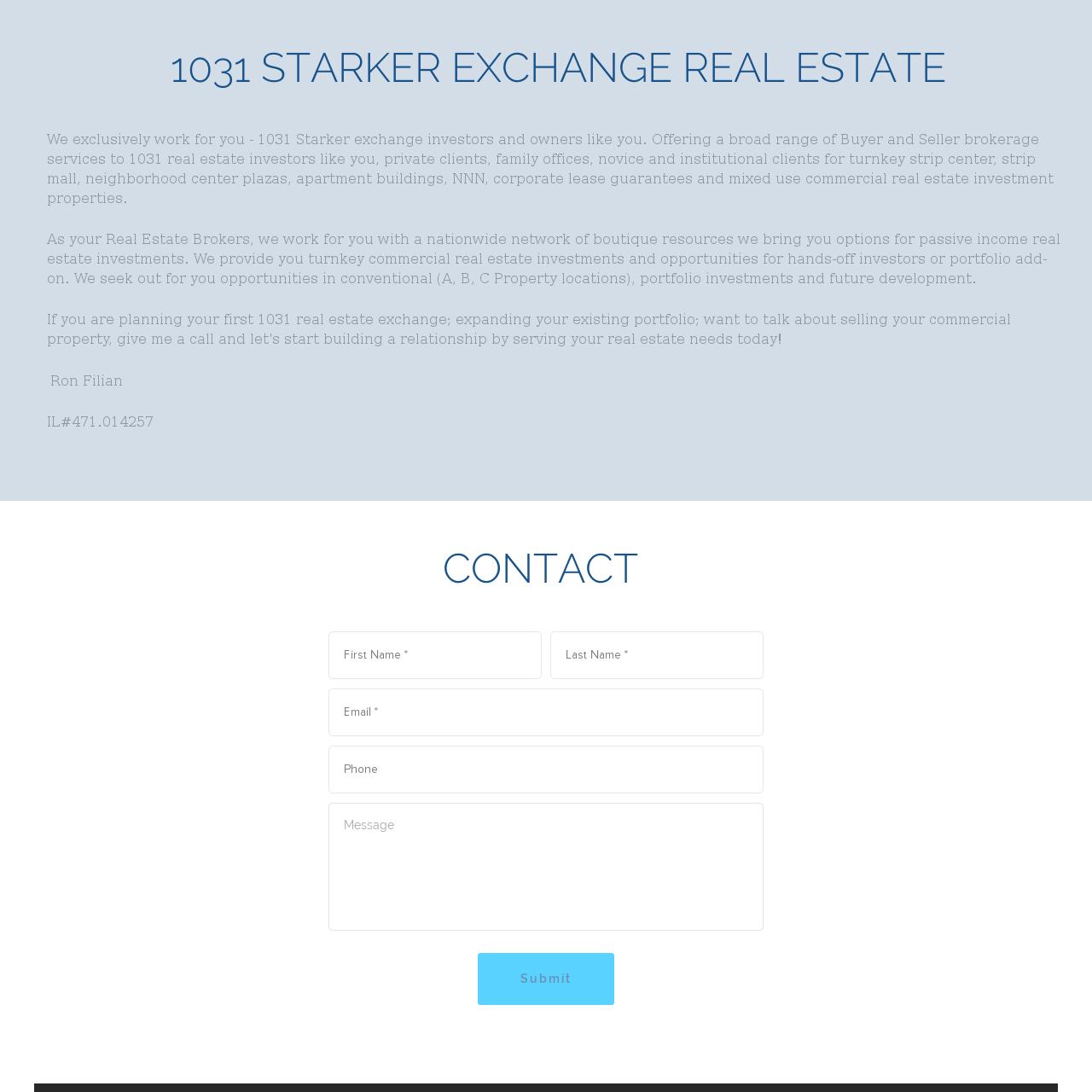 1031 Starker Real Estate Exchange, 1031 Chicago commercial