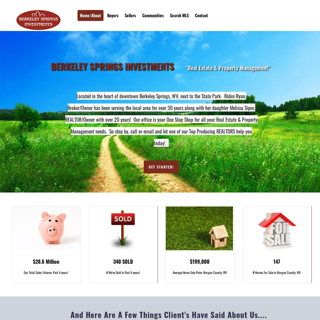 berkeley springs investments