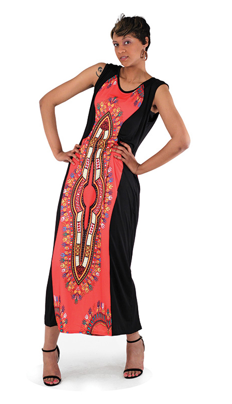 Heritage C-WF876 ( 1pc Traditional Sleeveless Dress )