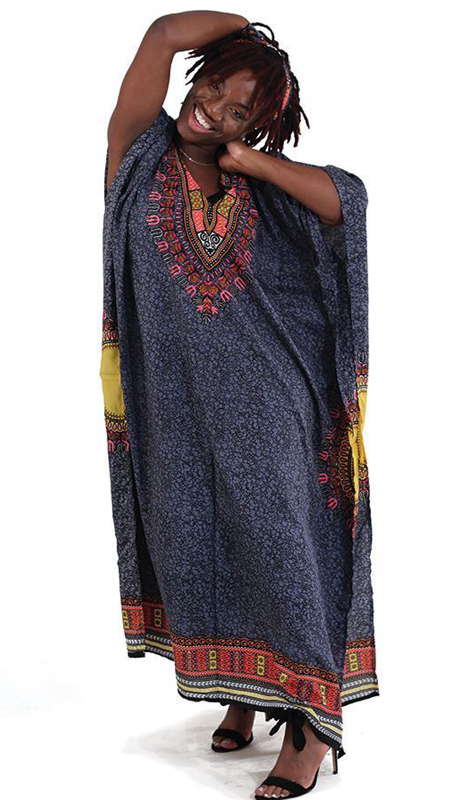Heritage C-WF304-GP ( 1pc Traditional Kaftan Dress )