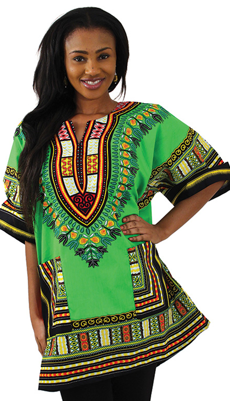Heritage C-U922-GM ( Traditional Thailand Dashiki )