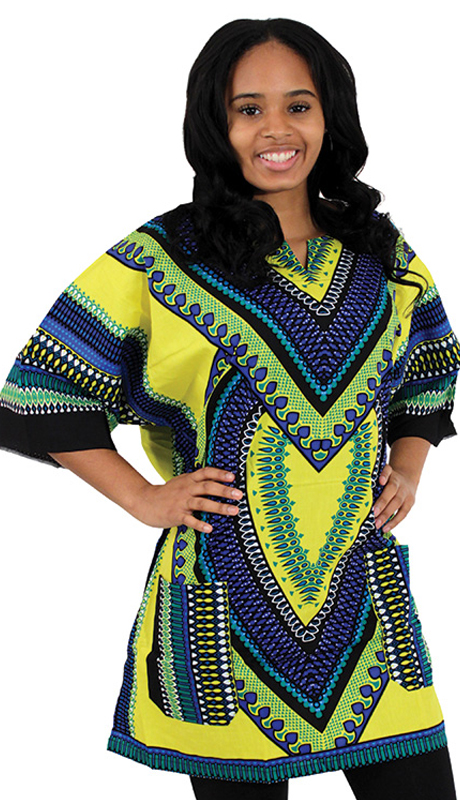 Heritage C-U919-YB ( 1pc Heart Of Africa Dashiki )