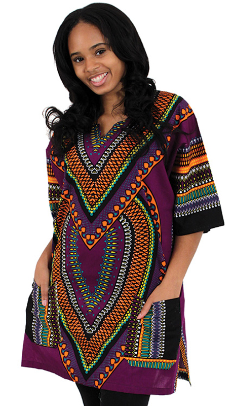 Heritage C-U919-PP ( 1pc Heart Of Africa Dashiki )